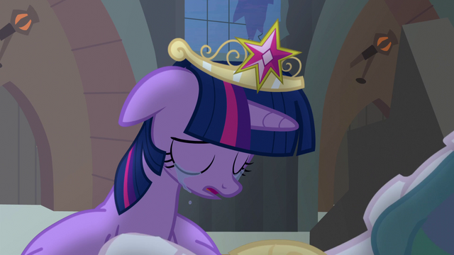 File:Princess Celestia begins to stand up S4E02.png