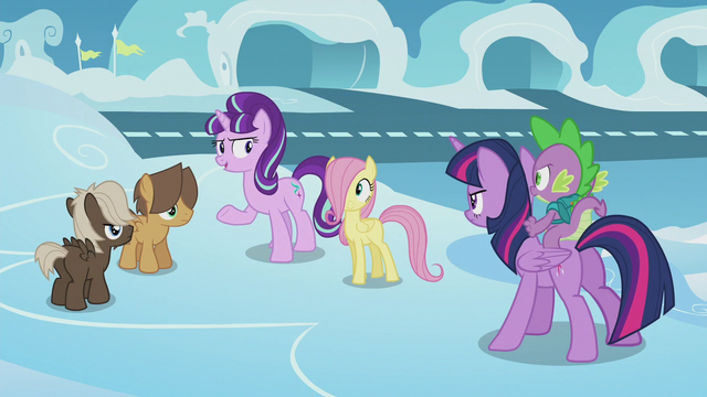 "File:Starlight ""just reminding these two colts"" S5E25.png"