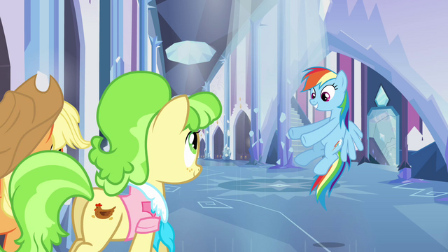 "File:Rainbow Dash ""and we're walking..."" S03E12.png"