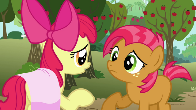 File:Apple Bloom 'we were tryin' to get you back for bein' a big bully' S3E04.png