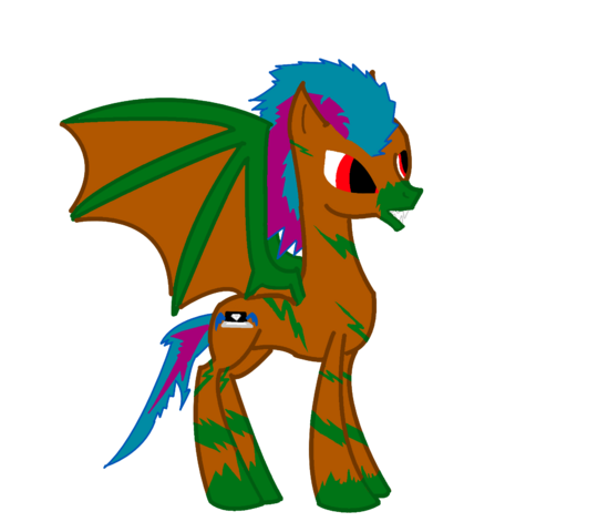 File:FANMADE OC Clever as a ponywolf.png