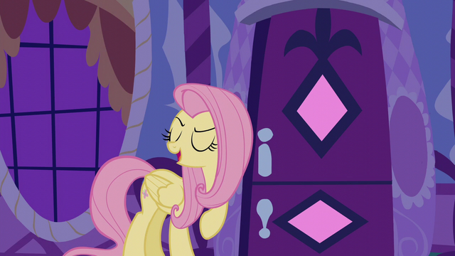"File:Fluttershy ""I thought you might say that"" S6E11.png"
