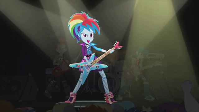 File:Rainbow Dash rocks out on stage EG2.png