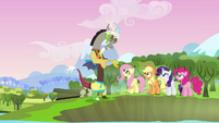 "Discord and main cast ""sight for sore eyes"" S03E10"