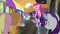 Mane 6 saying goodbye to Maud S4E18