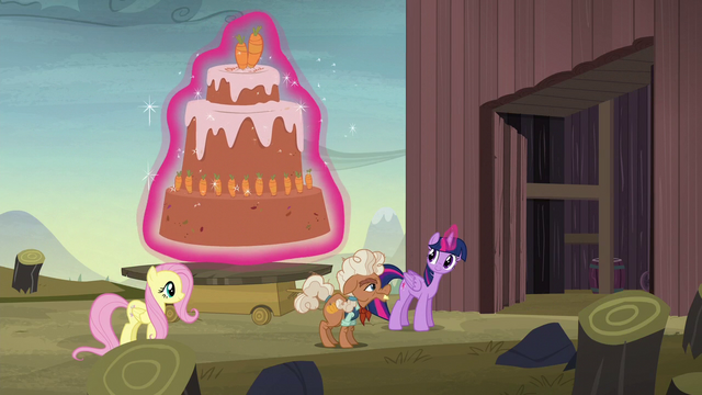 File:Twilight levitates cake through the McColts' gate S5E23.png