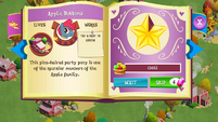 Apple Bottoms album page MLP mobile game