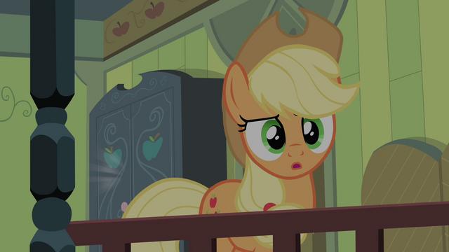 File:Applejack hears Scootaloo's voice S4E17.png