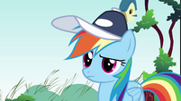 Rainbow Dash what happened S2E22