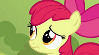 Apple Bloom worried close-up S5E17