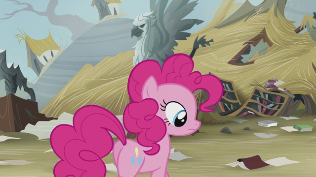 File:Pinkie at the ruins of the library S5E8.png