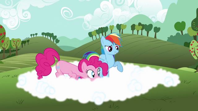 File:Rainbow Dash explaining fog to Pinkie S3E3.png