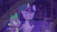 "Spike ""Princess Celestia gave you an assignment"" S5E12"