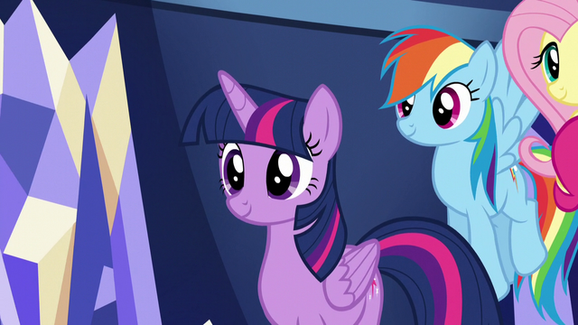 File:Twilight listening to Princess Cadance S5E19.png