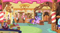 Twilight ringing the desk bell S1E25