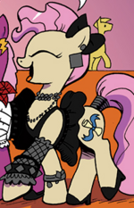 Young Mayor Mare from IDW Comics Issue 12