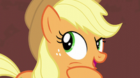 Applejack remembering Coco Pommel S5E16