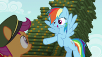 "Rainbow ""who's ready to sell some cookies?"" S6E15"