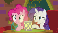 "Rarity ""we're actually in a bit of"" S6E12"