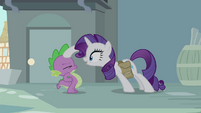 Rarity points at Spike S4E23
