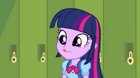 Twilight licking her lips EG