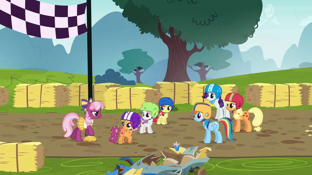 File:Cheerilee approaches looking annoyed S6E14.png