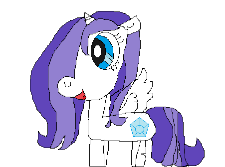 File:FANMADE Oc pony crystal.png