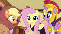 Fluttershy getting nervous S5E21