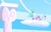 Lyra Heartstrings on cloud