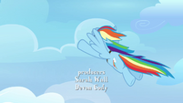 Rainbow flying S3E07