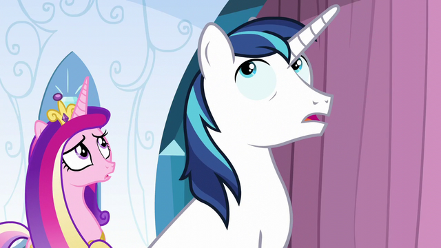 File:Cadance and Shining Armor hears Flurry Heart S6E2.png