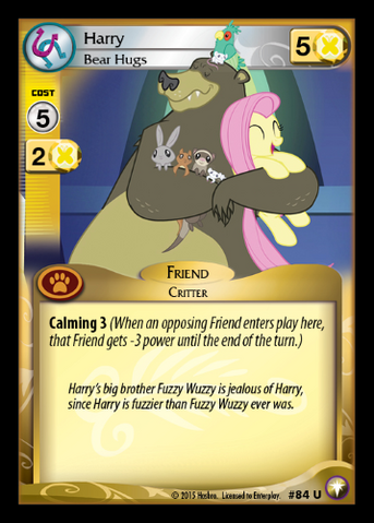File:Harry, Bear Hugs card MLP CCG.png