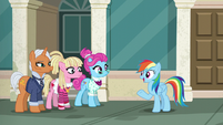 "Rainbow ""I need somepony fast enough"" S6E9"