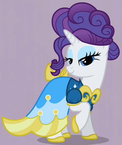 File:Rarity blue-yellow dress ID S2E9.png