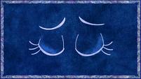 Storybook Nightmare Moon eyes closed S01E01