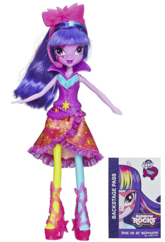 File:Twilight Sparkle Equestria Girls Rainbow Rocks Neon doll.png