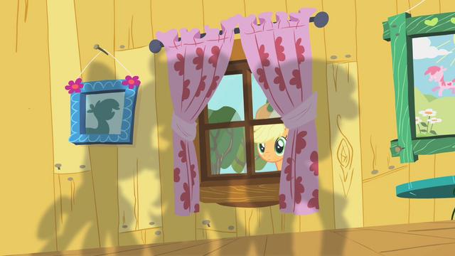 File:Applejack peering through window S01E18.png