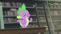"""Spike """"She said I'm her favorite dragon"""" S4E23"""