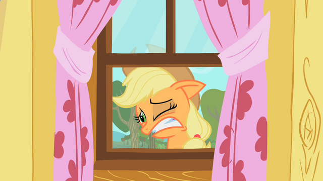 File:Applejack's reaction to the CMC's practice S1E18.png