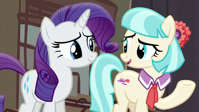 "File:Coco Pommel ""you bet your boots we were!"" S5E16.png"