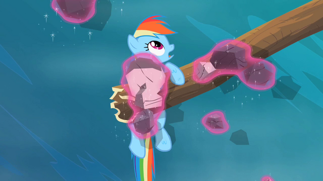 File:Rainbow Dash sees pieces of the dam being levitated S2E08.png