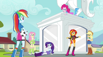 "Sunset Shimmer ""how we can get in touch with Twilight"" EG2"