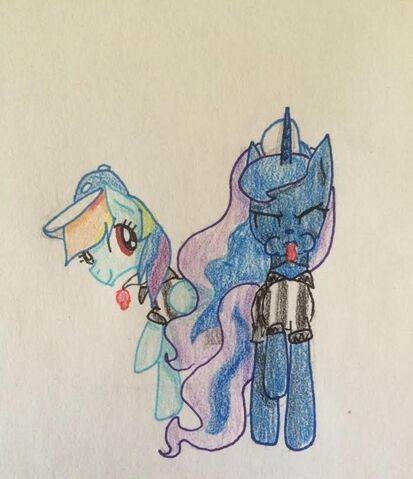 File:FANMADE Luna and Rainbow Dash Referees.jpg