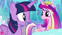 "Twilight ""I can help keep tabs on her magic"" S6E1"