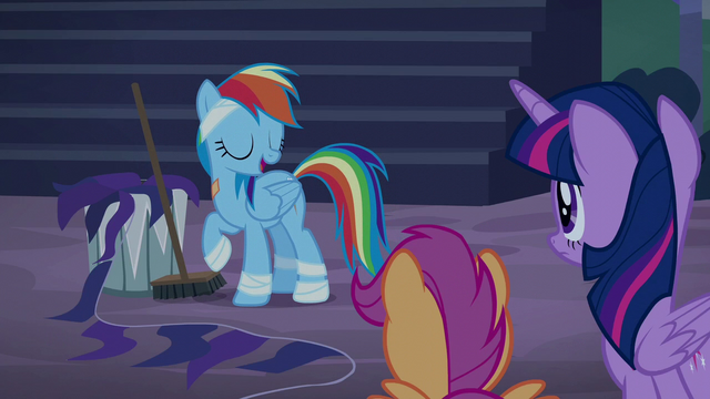 "File:Rainbow Dash ""this mess is my responsibility"" S6E7.png"