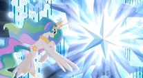 Season 4 promo Celestia and the tree of harmony