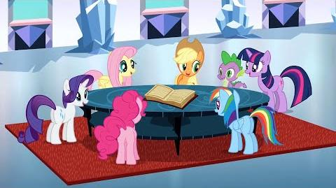 My Little Pony Friendship is magic - The Ballad of the Crystal Empire - Polish HD