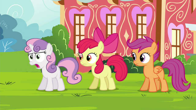 """File:Sweetie """"with Princess Twilight all the time!"""" S4E15.png"""