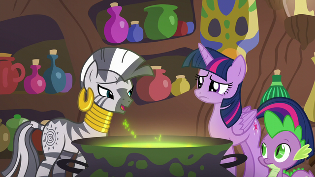 "File:Zecora ""in what way can you tell"" S5E22.png"