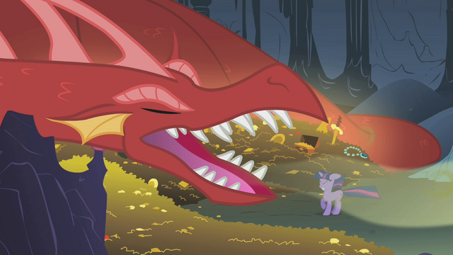 File:Dragon yawning at Twilight S1E07.png